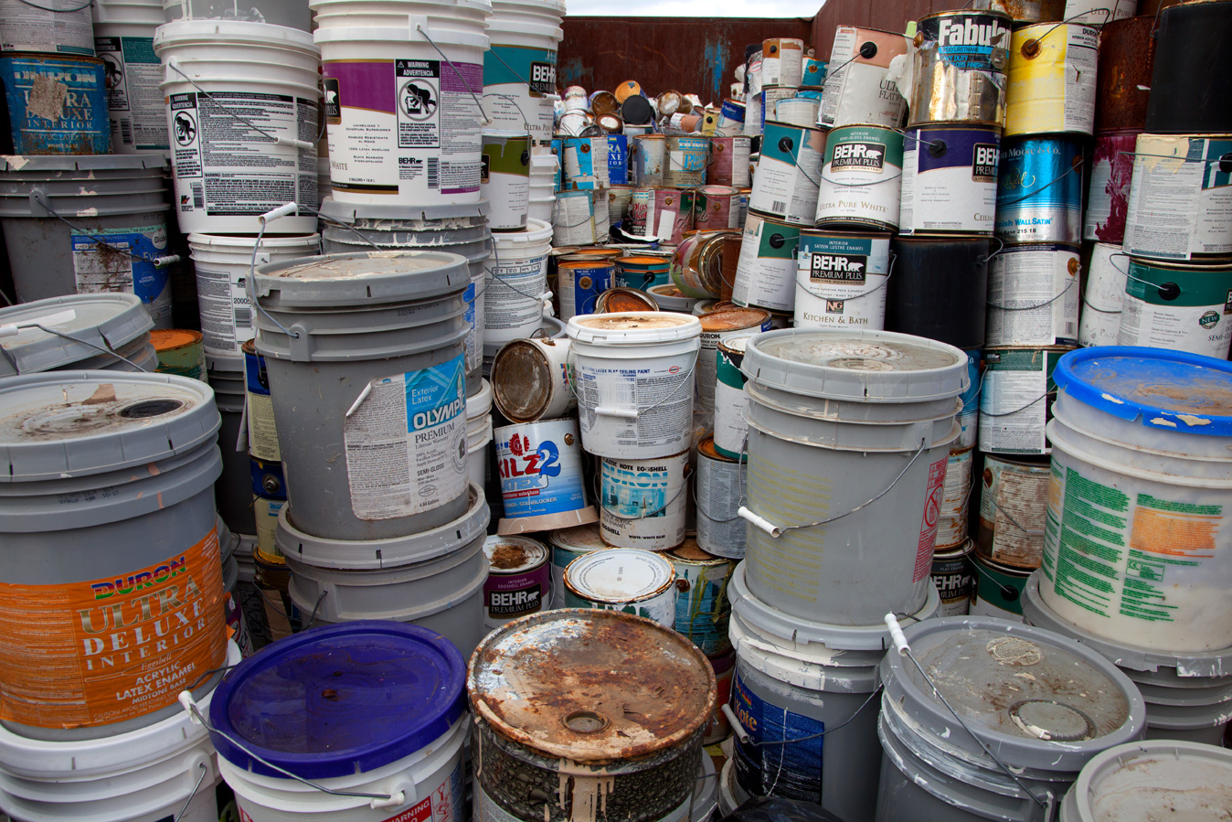 Non hazardous and hazardous waste disposal service for How to dispose of empty paint cans